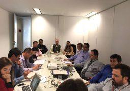 Representantes da Câmara e Prefeitura, visitam sede da ARSAE para pedir solução dos problemas com a COPASA em São Gotardo