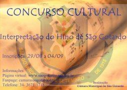 Câmara lança Concurso para a escolha da nova interpretação do Hino de São Gotardo