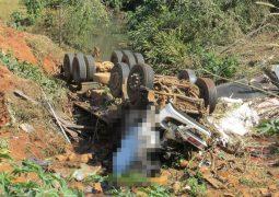 Perigosa curva entre as cidades de São Gotardo e Matutina provoca novo acidente com vítima fatal na LMG-764