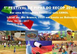 Escola Estadual Coronel Oscar Prados realizará 1º Festival de Pipas em São Gotardo