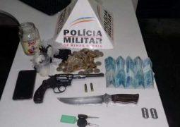 Durante o feriado prolongado, Polícia Militar realizar várias prisões e apreensões em São Gotardo