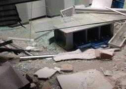 Noite de terror. Assaltantes explodem terminais eletrônicos do Banco do Brasil em Campos Altos