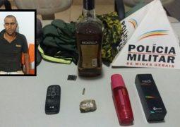 Criminosos armados cometem assalto em Tiros, mas um dos autores é localizado e preso pela Polícia