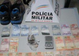 Homem é preso pelo crime de tráfico de drogas em Tiros