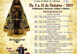 Com a participação do Pe. Juarez de Castro, Festa em Louvor a Nossa Senhora Aparecida acontece em Outubro em São Gotardo