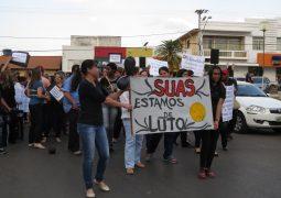 Assistência Social realiza ato público e manifestação pacífica em São Gotardo contra corte dos recursos Federais no SUAS