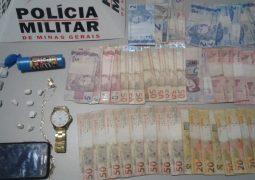 Outras cidades: Jovem é preso por tráfico de drogas em Tiros