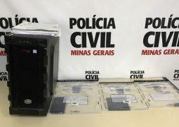Polícia de Carmo Paranaíba prende pela 1ª vez no estado homem acusado de estuprar virtualmente mulheres