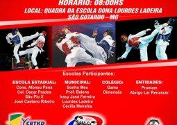 Etapa do Campeonato Estudantil de Taekwondo acontece neste domingo em São Gotardo