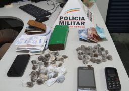 Durante operação anti-drogas, quatro pessoas são presas pela PM em São Gotardo e Guarda dos Ferreiros