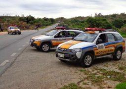 Motorista de Tiros perde controle do veículo e capota na BR-354 próximo ao distrito de Chaves