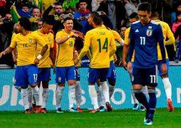 Com testes de Tite, Seleção Brasileira vence o Japão em penúltimo jogo do ano