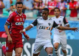 Em confronto direto, Atlético empata com o Bahia em jogo com dois gols de Robinho