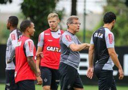 Atlético volta aos trabalhos e inicia preparação para jogo contra o campeão Corinthians