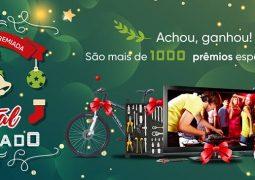 """Supermercado São Vicente lança promoção """"Seu Natal Premiado"""" em São Gotardo"""