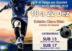 Seletiva para escolha de atletas para disputarem o Campeonato Mineiro 2018 será realizada em São Gotardo