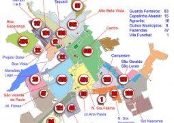 Após 2016 assustador, casos de dengue diminuem drasticamente em 2017 em São Gotardo