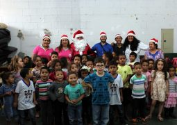 Em clima Natalino, Portal SG AGORA encerra campanha para crianças de São Gotardo