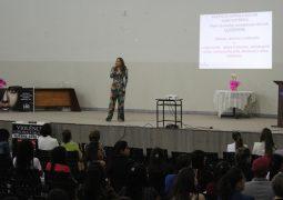 """Em celebração ao """"Dia da não violência contra a Mulher"""", palestra é realizada em São Gotardo"""