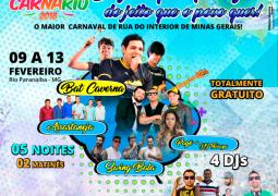 CarnaRio 2018 é lançado com grande grade de shows em Rio Paranaíba