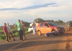 Acidente envolvendo motocicleta e veículo de passeio faz mais uma vítima fatal na MG-235