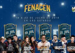 Passaportes da Fenacen 2018 começam a ser vendidos em São Gotardo e Guarda dos Ferreiros