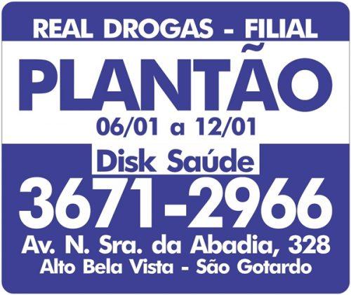 Foto Capa: Divulgação/Real Drogas Filial