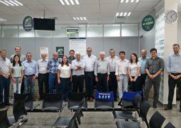 Sicoob Credisg recebe visita do Conselho de Administração do Sicoob Central Crediminas em São Gotardo