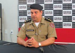Comandante da PM realiza coletiva de imprensa em São Gotardo para falar sobre terras invadidas em Guarda dos Ferreiros