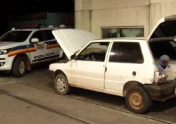 Homens que estariam vindo de São Gotardo, são presos com 2,5 kg de crack na BR-365