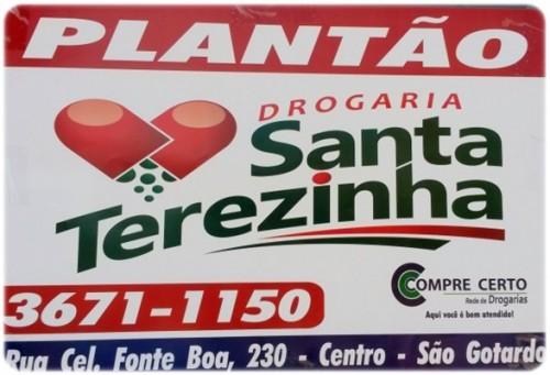 Foto Capa: Divulgação/Drogaria Santa Terezinha
