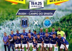 Trazendo equipe Master do Cruzeiro para jogo amistoso, 4ª Copa de Futebol do Alto Paranaíba começa nesta sexta em São Gotardo