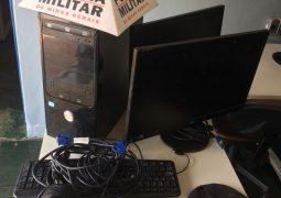 Durante ocorrência de roubo, PM de São Gotardo localiza objetos que haviam sido furtados em outro crime na cidade