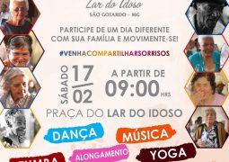 """Lar do Idoso de São Gotardo realiza """"Dia do Movimente-se"""" neste sábado e convida população para participar"""
