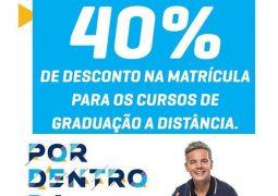 """Com desconto de 40% na matrícula, Uninter de São Gotardo realizará """"Dia da Matrícula"""" neste sábado"""