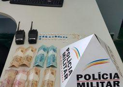Em operação Anti-Drogas, PM de São Gotardo realiza a prisão de dois homens e a apreensão de um menor de idade