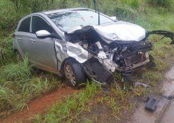Grave acidente em curva na BR-354 em Santa Rosa da Serra faz mais uma vítima fatal