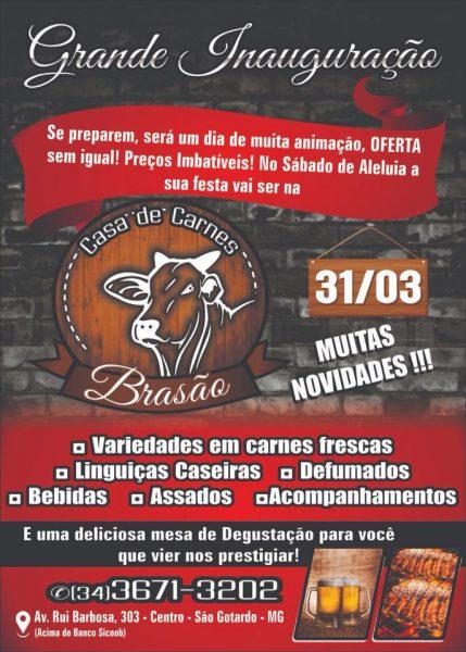 Foto Capa: Divulgação/Casa de Carnes Brasão