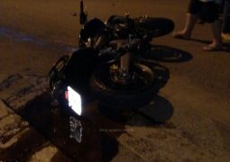 Grave acidente envolvendo motocicleta e van é registrado no perímetro urbano de São Gotardo