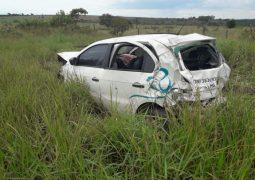 Motorista que seguia para São Gotardo, morre em grave acidente na BR-354