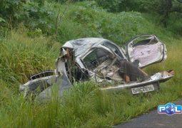PM de São Gotardo fica gravemente ferido em acidente ocorrido na BR-365 em Patrocínio