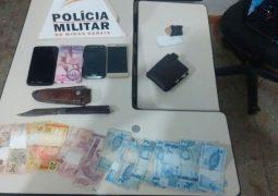 Criminosos de São Gotardo praticam roubo em Rio Paranaíba, mas acabam presos pela Polícia