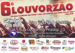 6º Louvorzão acontece neste sábado em São Gotardo