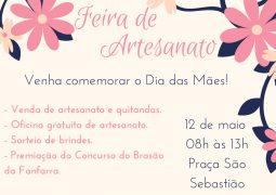 Feira do Artesanato especia de Dia das Mães acontece neste sábado em São Gotardo