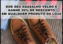 Promoção Social Loja Âncora: Leve seu agasalho para doação e ganhe desconto de 20% em qualquer produto da Loja
