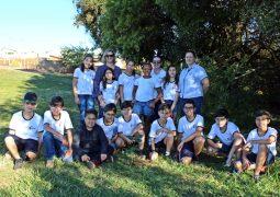 """Alunos do Colégio Equipe-SG/Alegria de Saber desenvolvem projeto """"Agente Mirim do Meio Ambiente"""" em São Gotardo"""