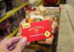 """Supermercado São Vicente lança Cartão """"Clube de Vantagens"""" em São Gotardo"""