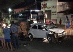 Motorista provoca grave acidente em São Gotardo e por muita sorte ninguém se fere gravemente