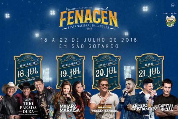 Foto Capa: Divulgação/Fenacen 2018