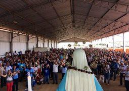 Com participação de centenas de pessoas, Terço dos Homens de São Gotardo celebra sétimo aniversário